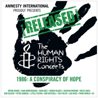 ¡Released! The Human Rights Concerts 1986: A Conspiracy Of Hope (Live)