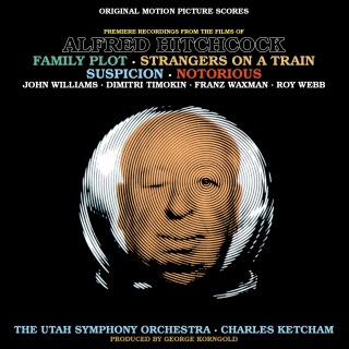 Music From The Films Of Alfred Hitchcock: Family Plot, Strangers On A Train, Suspicion & Notorious (Original Motion Picture Scores)