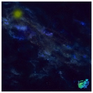 流れ星ぐるぐるり