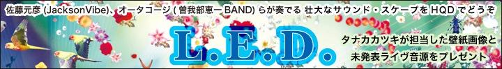 L.E.D.『GAIA DANCE』高音質配信 レビュー