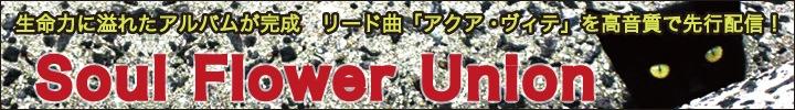 ソウル・フラワー・ユニオン「アクア・ヴィテ」高音質で先行配信 インタビュー