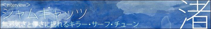 シャムキャッツ『渚』配信開始!! 夏目知幸、菅原慎一(シャムキャッツ)×古里おさむ(umineco sounds)鼎談