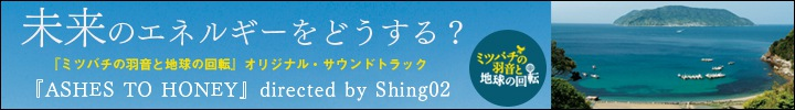 鎌仲ひとみ監督作品『ミツバチの羽音と地球の回転』オリジナル・サウンドトラック『ASHES TO HONEY』