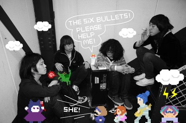 THE SIX BULLETS『僕らの音楽』フリー・ダウンロード開始!