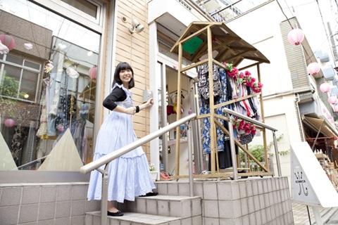 SEBASTIAN X 新作完成記念! 永原真夏と巡る高円寺・古着屋の旅