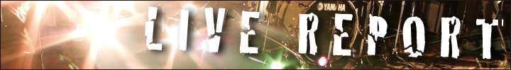 LIVE REPORT『東京PAOS!』2012年11月7日(水)