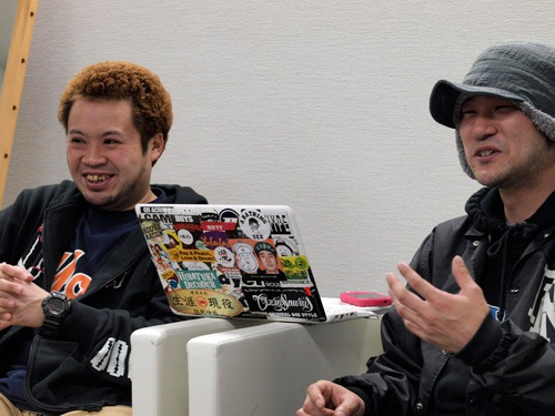 サイプレス上野とロベルト吉野『TIC TAC』を配信開始&インタビュー