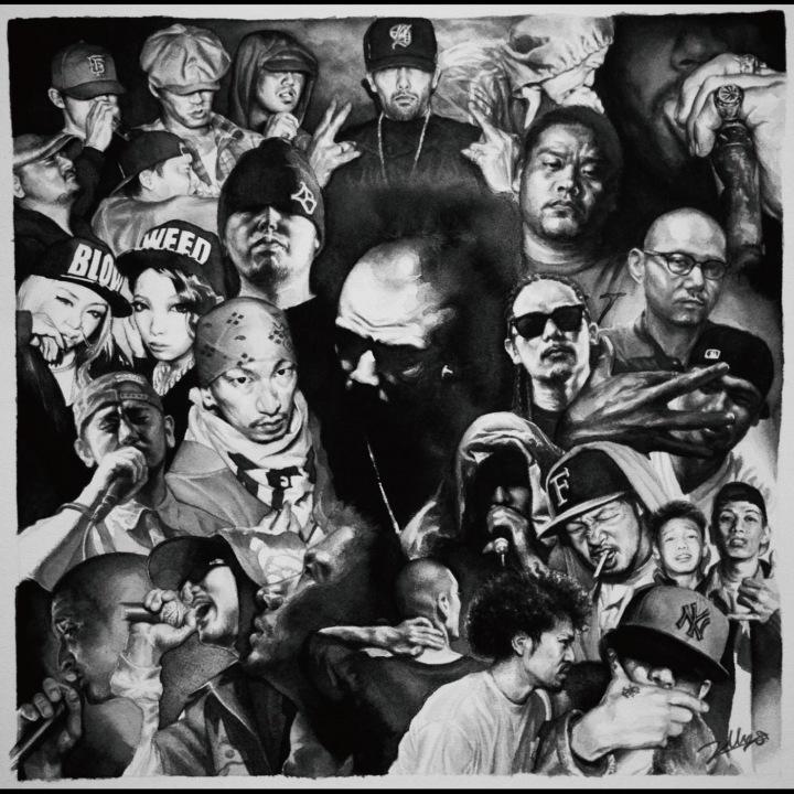 ONE-LAW、初のオリジナル・アルバム『MISTY』を配信記念対談! ONE-LAW×febb(Fla$hBackS)