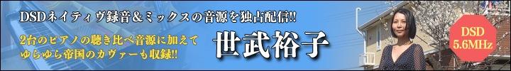 『世武裕子 DSD recording sessions vol.1 やもり』リリース