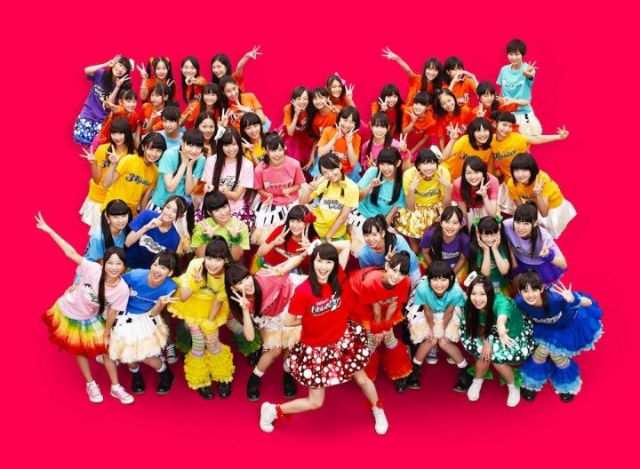 ももいろクローバーZ、私立恵比寿中学、チームしゃちほこ、たこやきレインボー、KAGAJO☆4Sが、レーベルの壁を越えて集まった!