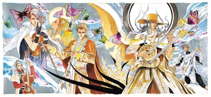 ゲーム音楽作曲家、伊藤賢治。大人気ゲーム『サ・ガ』シリーズの楽曲を熱きバトル・アレンジで収録