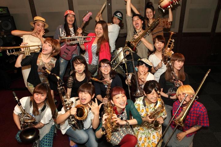 女子18人組ビッグバンド、たをやめオルケスタが2ndアルバムを配信開始!!