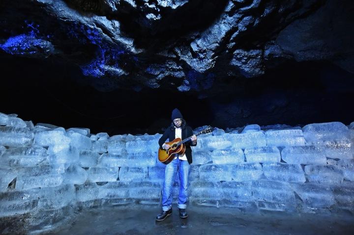 """曽我部恵一、美しき氷の洞窟で録音した""""最高音質""""EPを予約開始"""