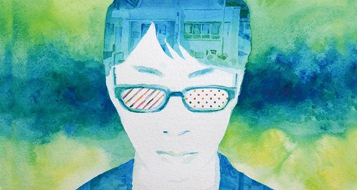 青木健、2年ぶりとなる新作『ONKEI』を1週間先行フル試聴&インタヴュー