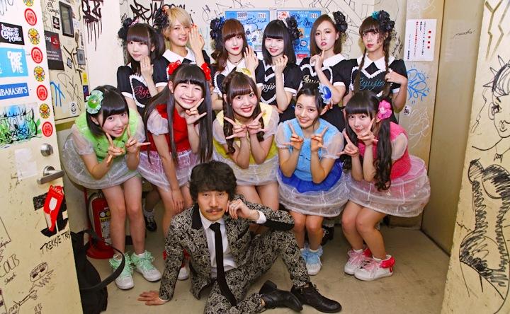 乙女新党、清 竜人がプロデュースした新曲をハイレゾ配信&「乙女新党 vs 清 竜人25」ライヴレポート