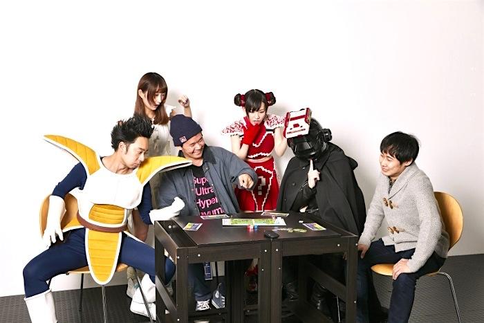 ラストクエスチョンのボードゲームCDにサカモト教授、劔樹人、R藤本が参戦した模様をレポート‼︎