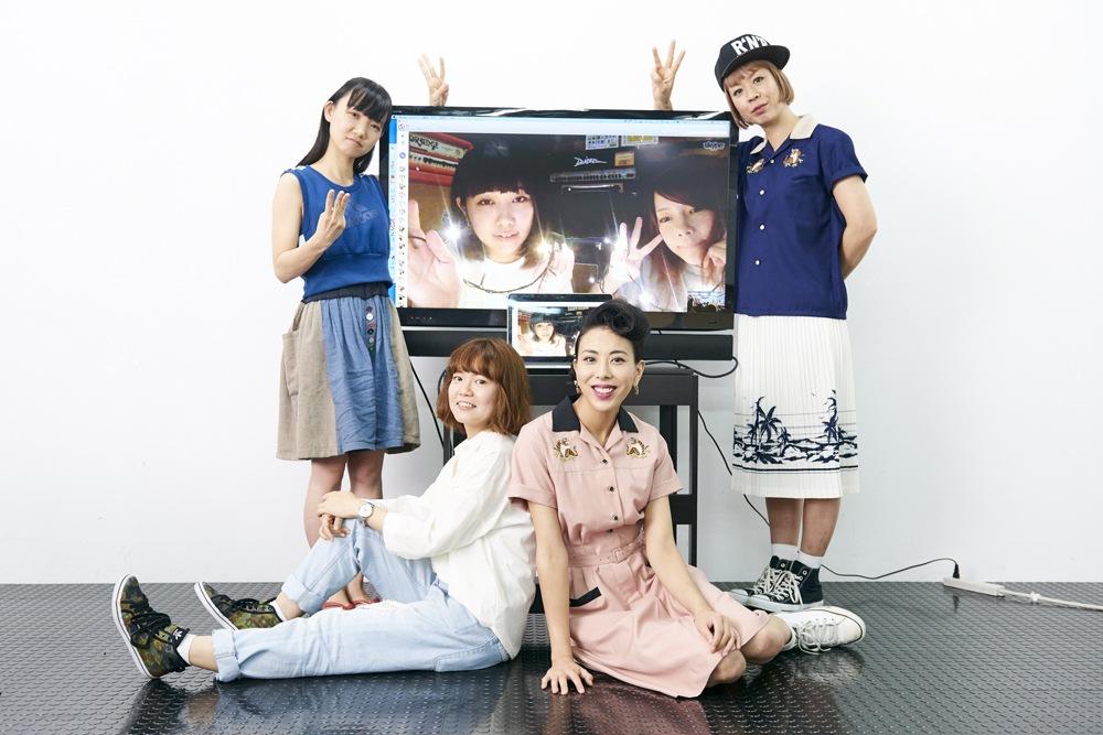 〈GIRLS 3×3〉スペシャル座談会、THE LIPSMAX x サンナナニ x DIALUCK