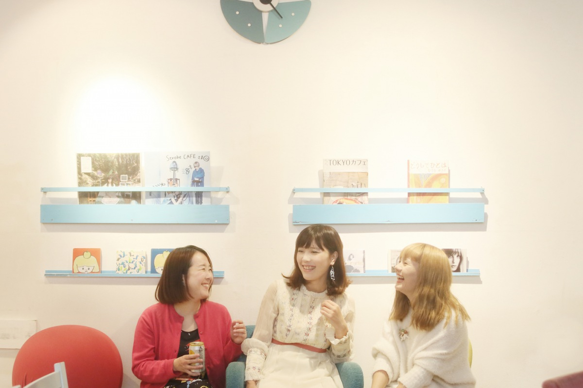 【連載】タフな乙女のアパートメント〈花とポップス〉から4ヶ月連続リリース! 第2回座談会 つるうちはな × ayumi melody × ぼくひかる