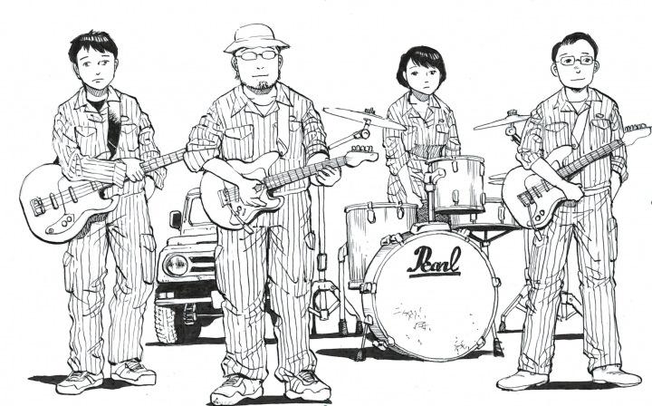 漫画家・浦沢直樹の元弟子を中心したUSインディーライクのバンド、フラットライナーズ、2ndアルバム先行配信