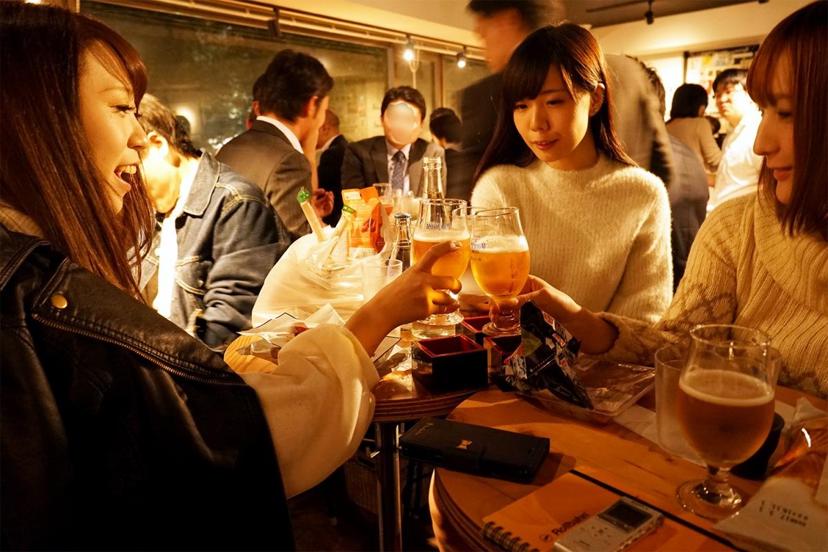 【WiLL ソロ企画】第2弾、凪原亜季が日本酒を呑みながら、酒豪のグラドル、病ンドルと女子会をしてきた