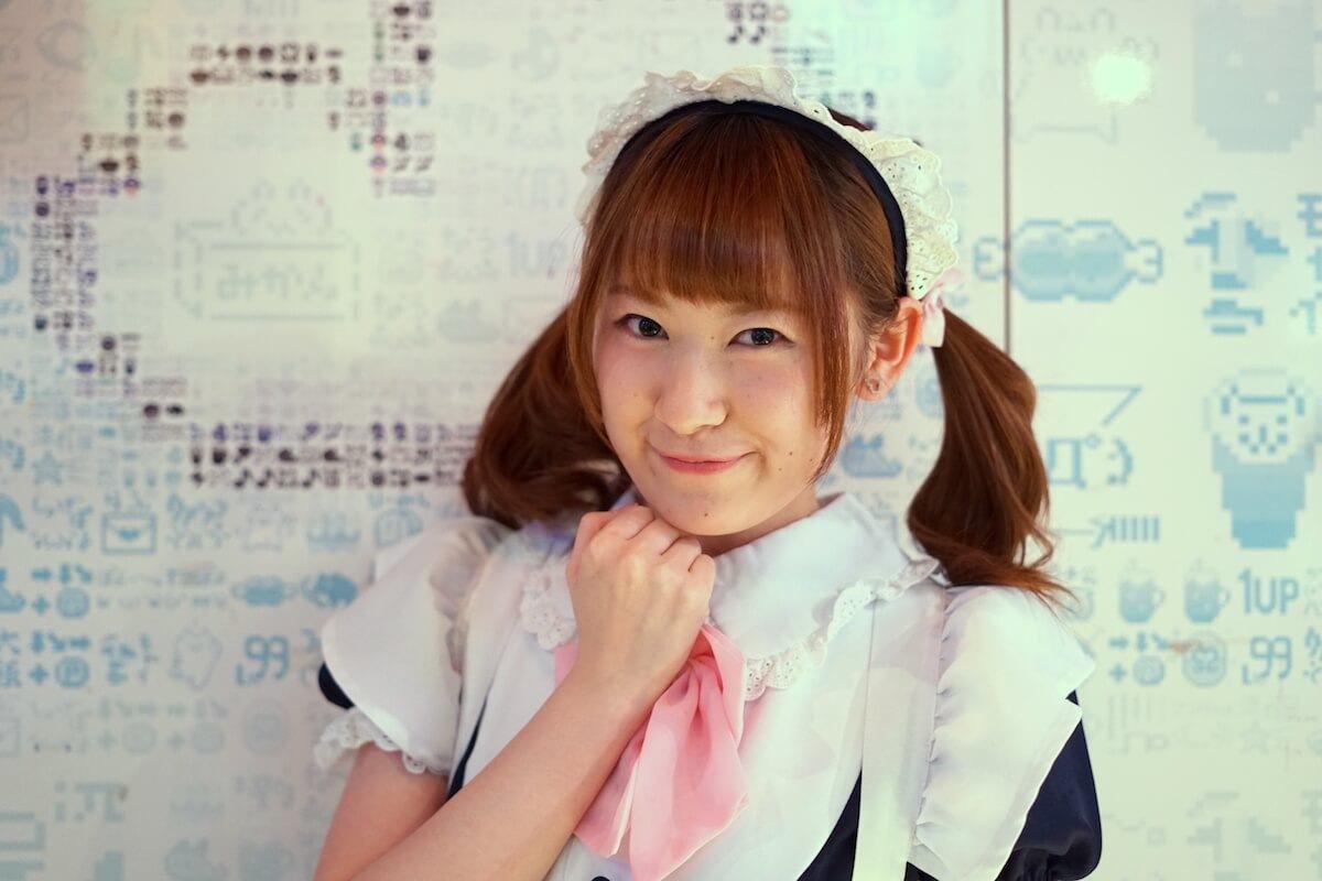 WiLL ソロ企画 第3弾、釆澤彩香がめいどりーみん渋谷店でメイドになってご主人さまにお給仕してきた