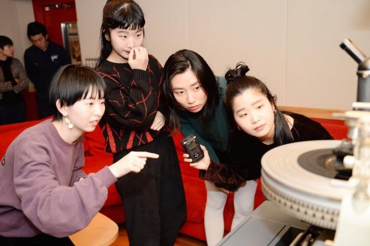 CHAIのレコード工場見学記@東洋化成