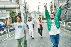 ハッピー・グルーヴ満載バンド、TENDOUJI──新EP『BUBBLE POPS』を配信開始