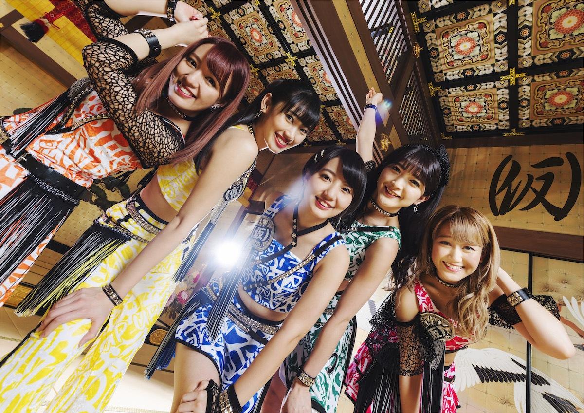 """5×5ではなく、5の5乗のパワーを!──アップアップガールズ(仮)、新曲""""55円""""先行配信&インタヴュー掲載"""