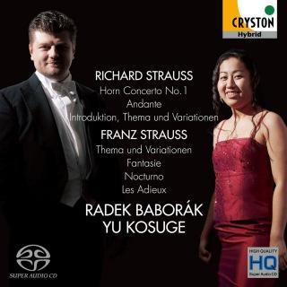 R・シュトラウス:ホルン協奏曲第1番/F・シュトラウス:主題と変奏 他