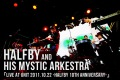 LIVE at UNIT 2011.10.22 -HALFBY 10th Anniversary- (24bit/48kHz)