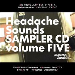 HeadacheSounds SAMPLER CD volume FIVE