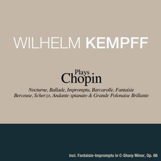 ヴィルヘルム・ケンプ plays ショパン