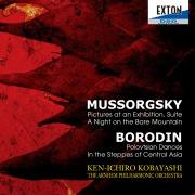 ムソルグスキー:「展覧会の絵」ラヴェル編、禿山の一夜、ボロディン:ダッタン人の踊り、「中央アジアの草原にて