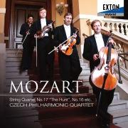 モーツァルト : 弦楽四重奏曲 第 17番 「狩」  第 16番
