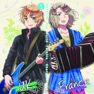 アニメ『ヘタリア The World Twinkle』 キャラクターCD Vol.3 ボンボンボン▽セボンセボン/ブルーベルの森で