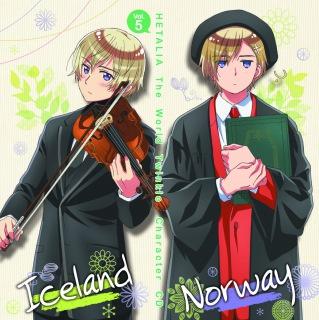 アニメ『ヘタリア The World Twinkle』 キャラクターCD Vol.5 うちは…しずか。〜トロールといっしょ〜/来てみれば? 〜オーロラを越えて〜