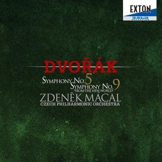 ドヴォルザーク:交響曲第 5番&第 9番「新世界より」