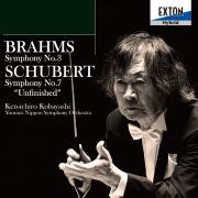 ブラームス:交響曲 第 3番、シューべルト:交響曲 第 7番「未完成」