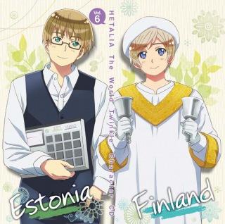 アニメ『ヘタリア The World Twinkle』 キャラクターCD Vol.6 モイモイサウナ♪/僕いかがですか?
