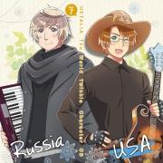 アニメ『ヘタリア The World Twinkle』 キャラクターCD Vol.7 It's Easy!!!!/雪と夢のものがたり