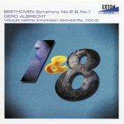 ベートーヴェン: 交響曲第 8番&第 1番