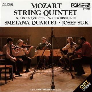 モーツァルト:弦楽五重奏曲第3&4番 (ORT)(24bit/96kHz)