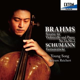 ブラームス:チェロ・ソナタ第 1番&第 2番、シューマン:幻想小曲集