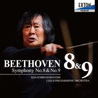 ベートーヴェン:交響曲 第8番&第9番「合唱」