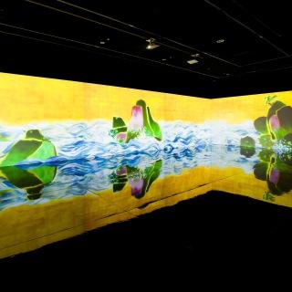 百年海図巻 アニメーションのジオラマ