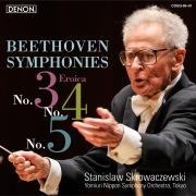 ベートーヴェン:交響曲第3番/第4番/第5番、他 (24bit/96kHz)