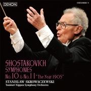 ショスタコーヴィチ:交響曲第10番&第11番 (96kHz/24bit)