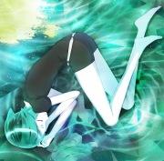 鏡面の波(アニメ盤)
