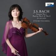 J.S.バッハ:無伴奏ヴァイオリン・ソナタ第 1番、パルティータ第 2番、第 3番