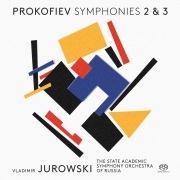プロコフィエフ:交響曲第2番、交響曲第3番(DSD 2.8MHz/1bit)